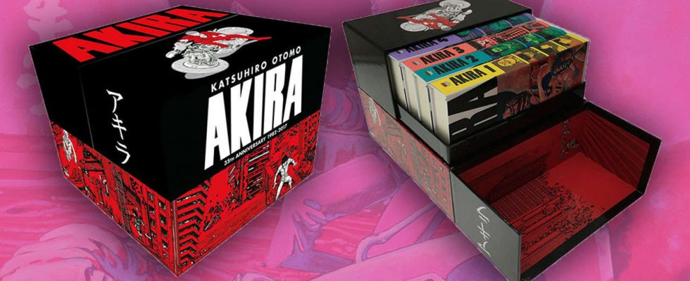 This Stunning Akira Box Set Is Over 80 Off At Amazon Game Thought Com